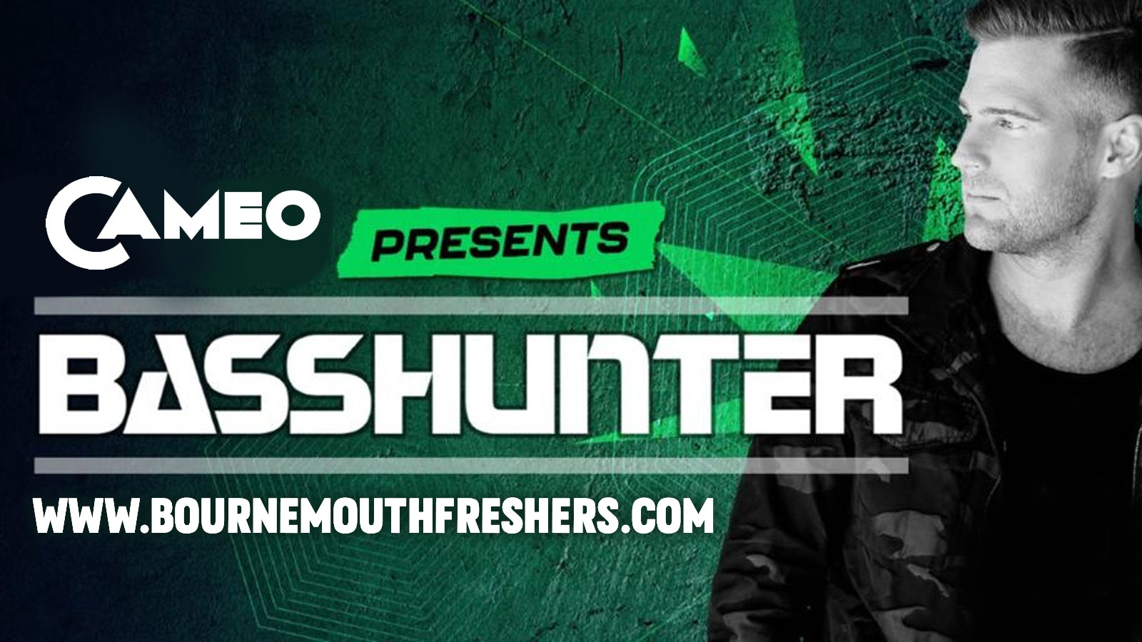 Cameo Presents Basshunter – Tuesday 5th October / Bournemouth's BIGGEST Freshers Rave  //// www.bournemouthfreshers.com
