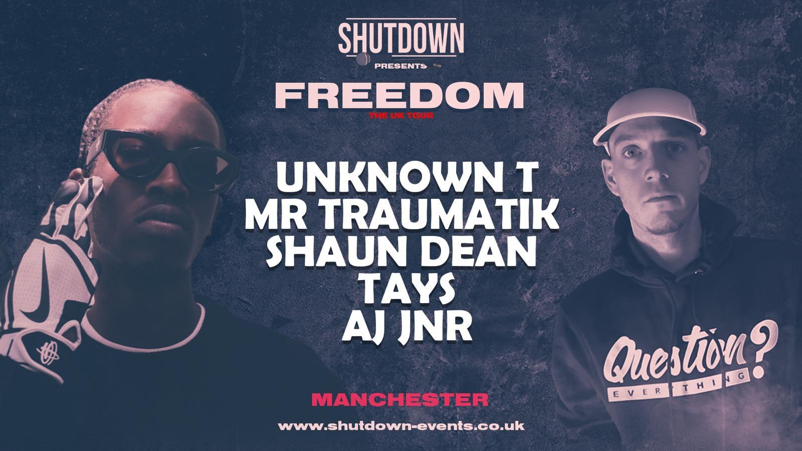 Shutdown – Freedom Tour – Manchester