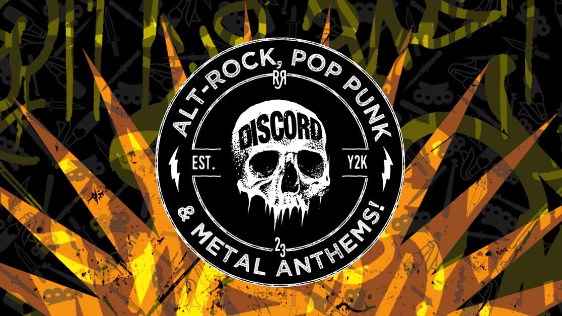 DISCORD – Rock, Emo, Pop Punk & Metal Anthems!