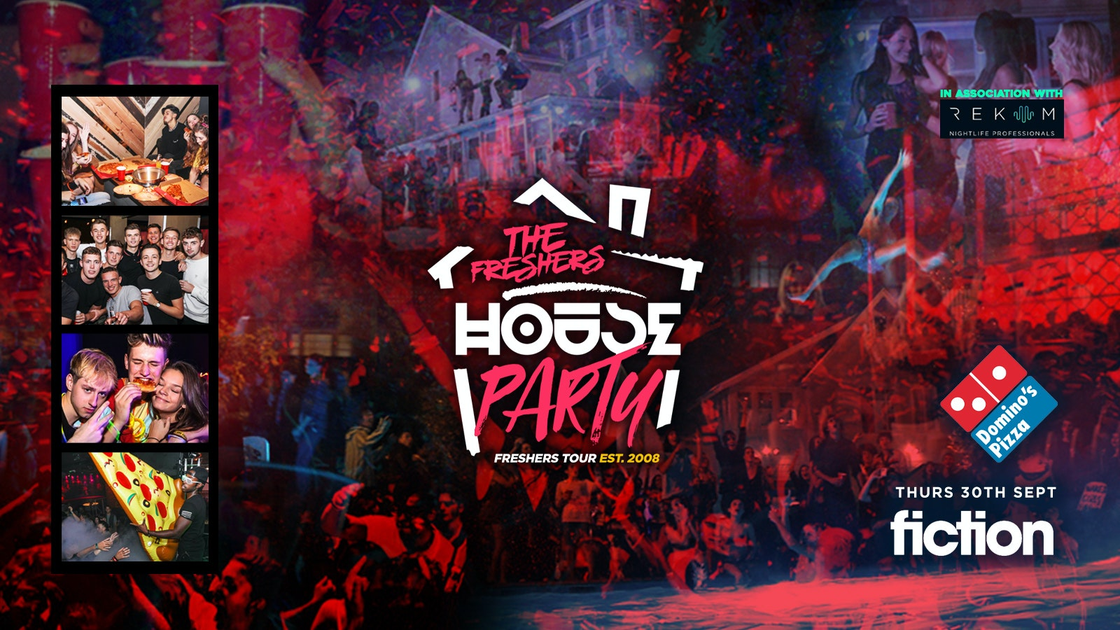 Neon Freshers House Party | Swansea Freshers 2021