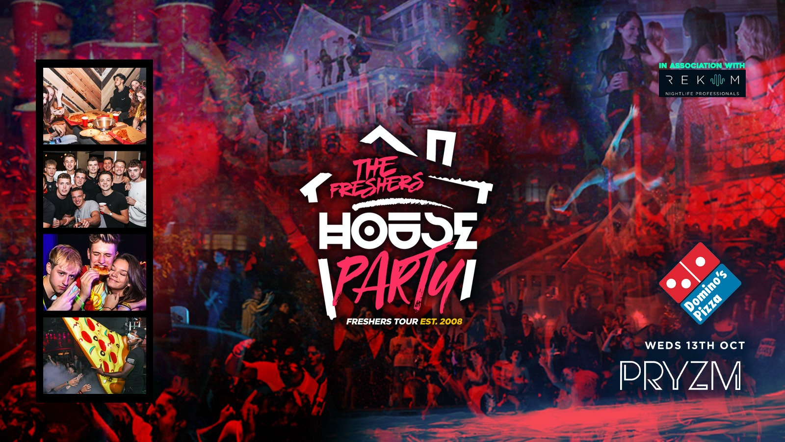 Neon Freshers House Party   Portsmouth Freshers 2021