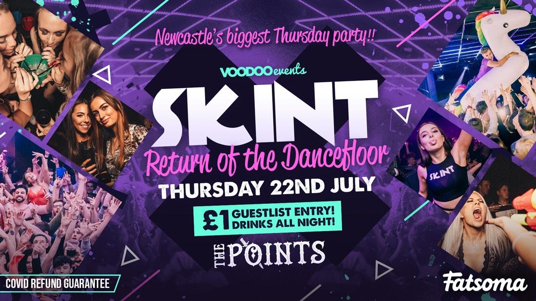 Skint – Freedom Week – Return of the Dancefloor!