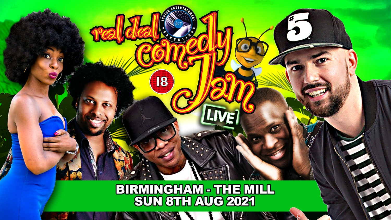 Birmingham Real Deal Comedy Jam SummerFest 2021