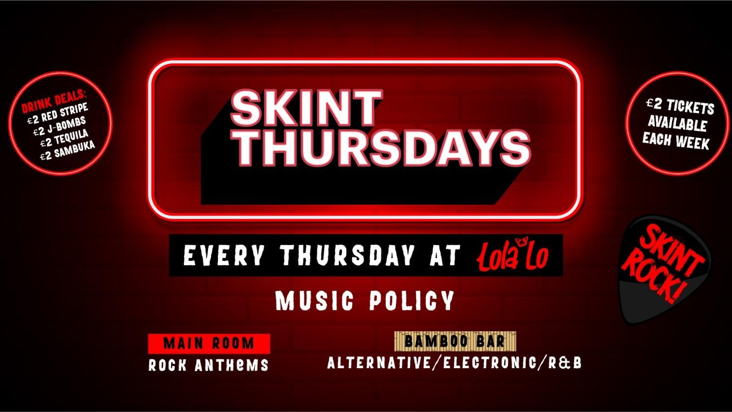 SKINT Thursdays : 05/08/21