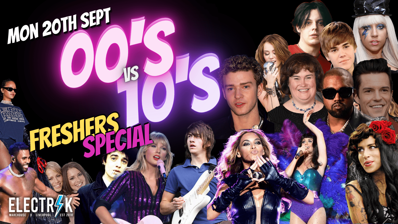 00s VS 10s – Freshers Special