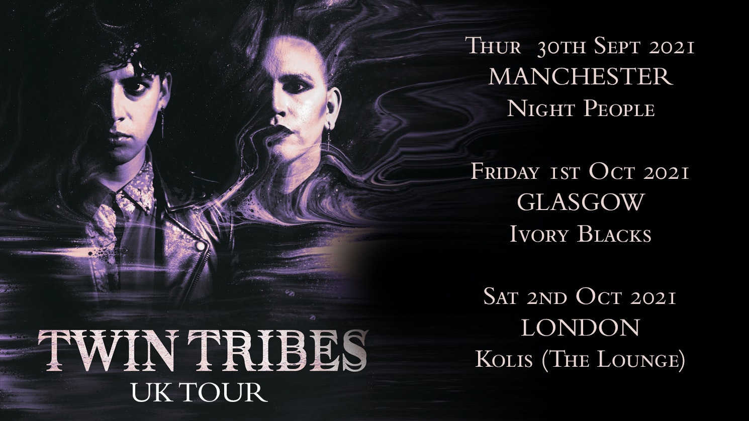 TWIN TRIBES  + DOUBLE ECHO! Only UK Date!