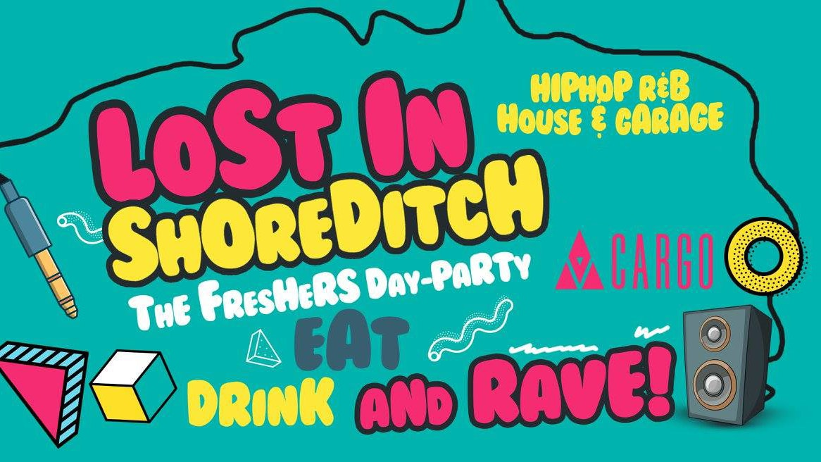 The Official Freshers Day Party x RUM & Wings – Cargo Shoreditch
