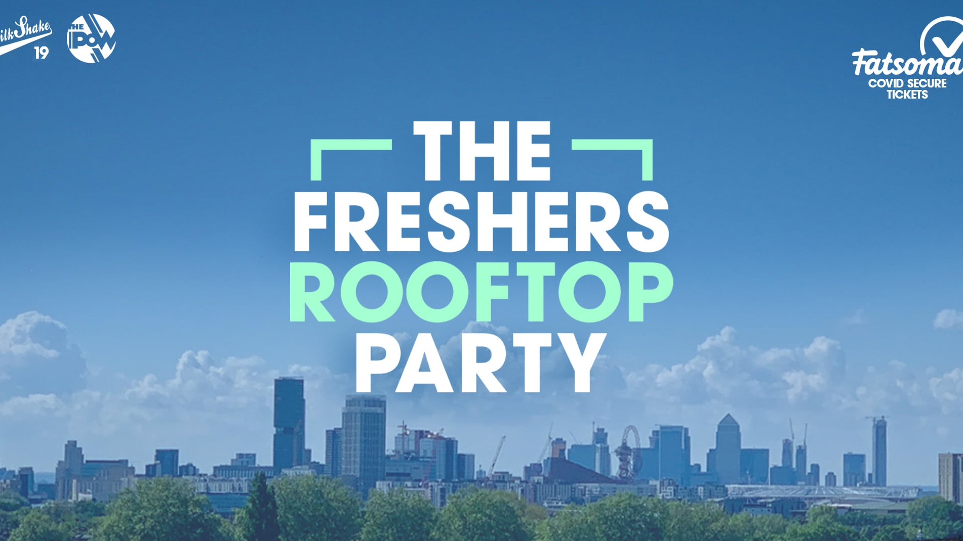 The London Freshers Rooftop Party (PART 2!) 🌞🍹