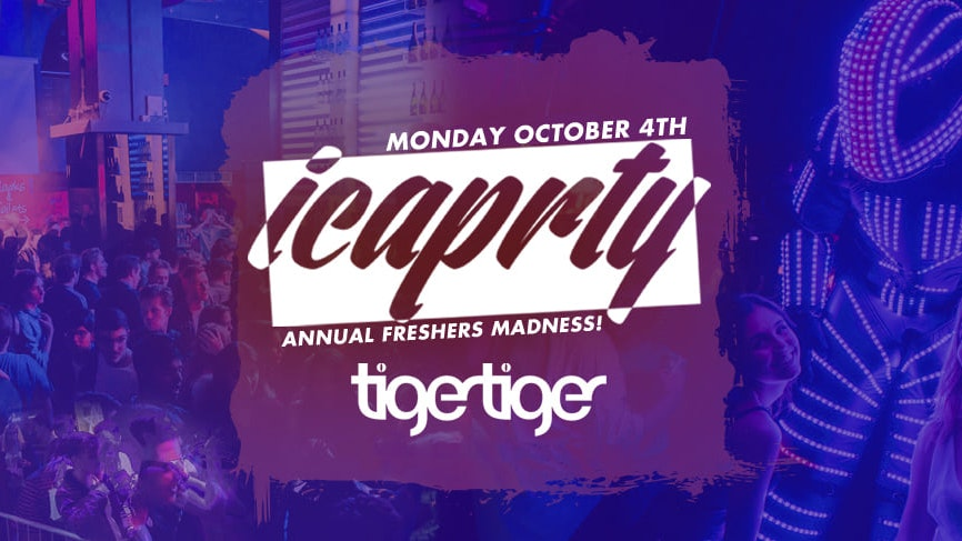 IC a PRTY! The Annual Freshers Madness 🎉