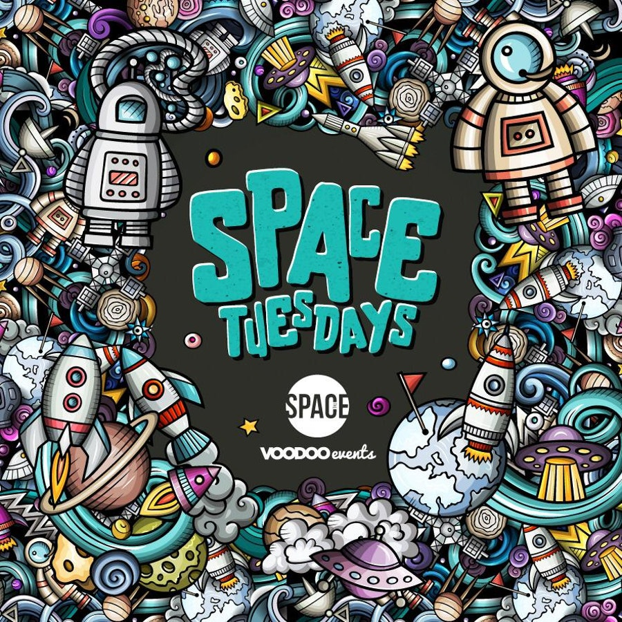 Space Tuesdays : Leeds – Pre Freshers 14th September
