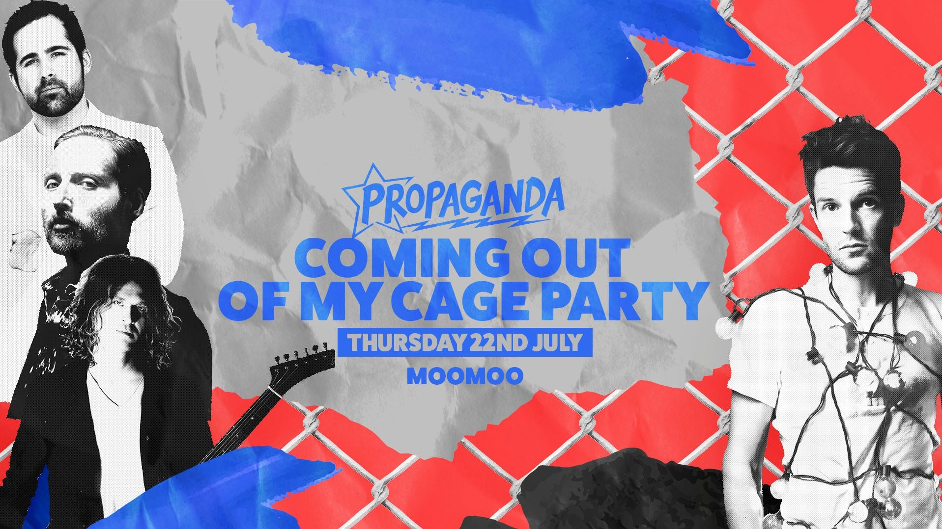 Propaganda Cheltenham – Final Release Tickets – Coming Out Of My Cage Party!
