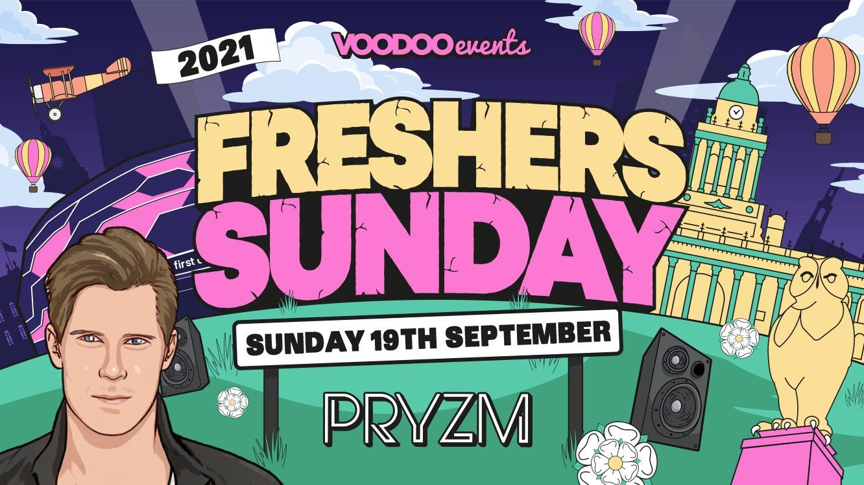 Freshers Sunday at Pryzm with Basshunter – 19th September