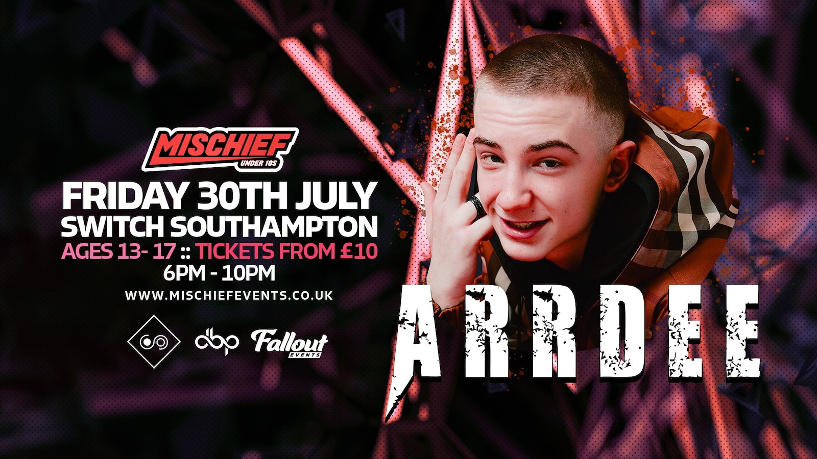 Under 18's with Arrdee – CANCELLED