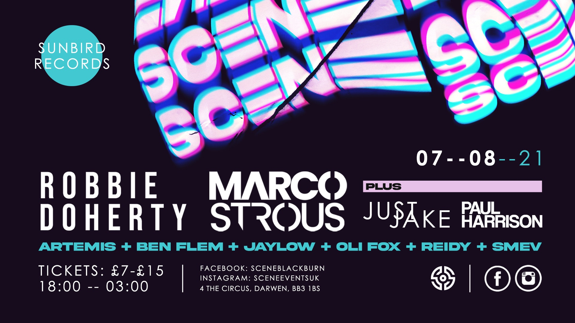 Scene Presents: ROBBIE DOHERTY + MARCO STROUS w/ Just Jake, Paul Harrison & More