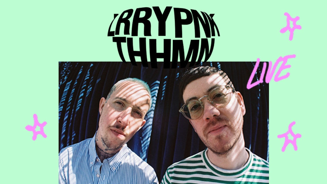 Larry Pink The Human   REVIVE LIVE