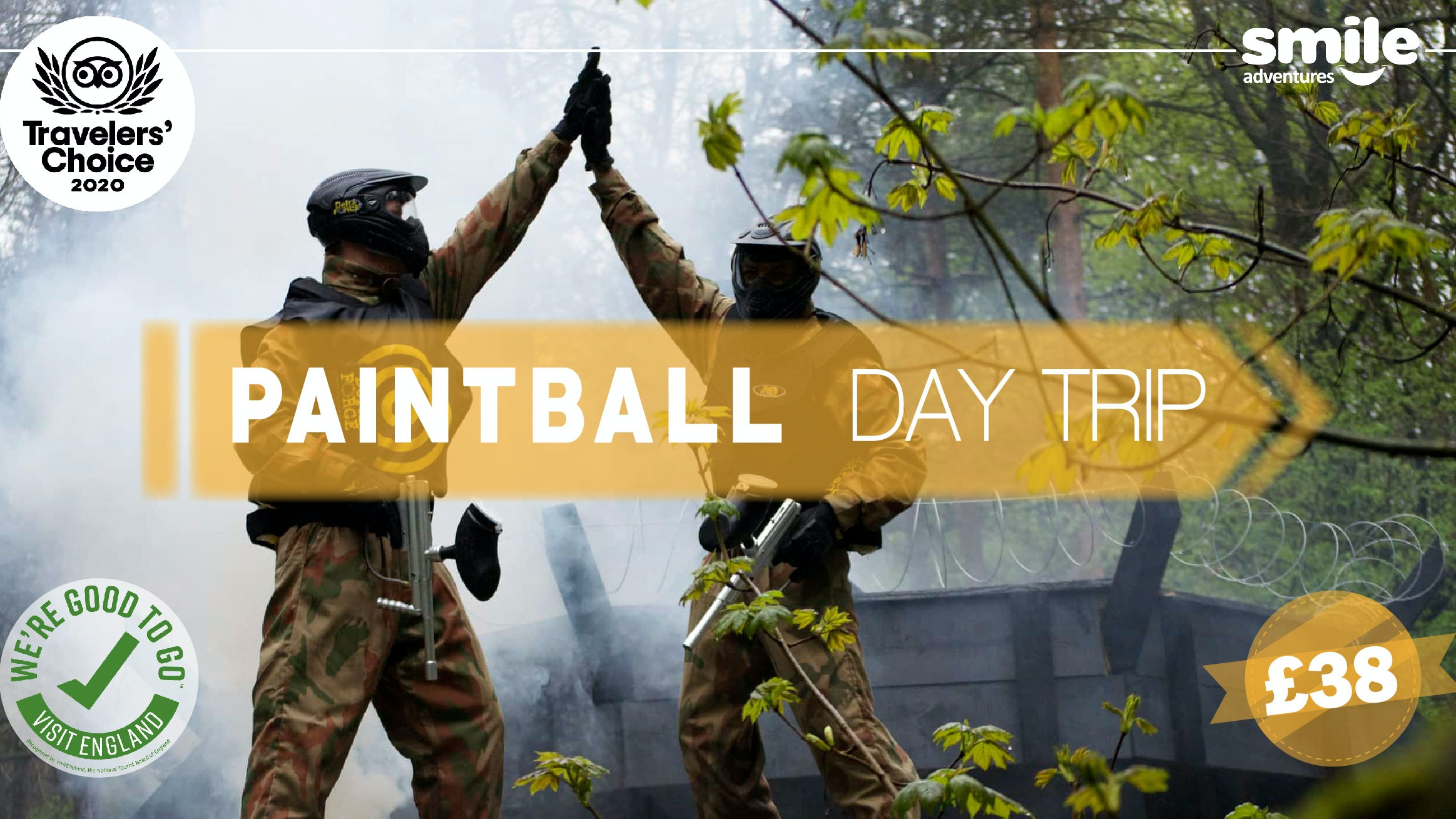 Paintball Day Trip – From Manchester
