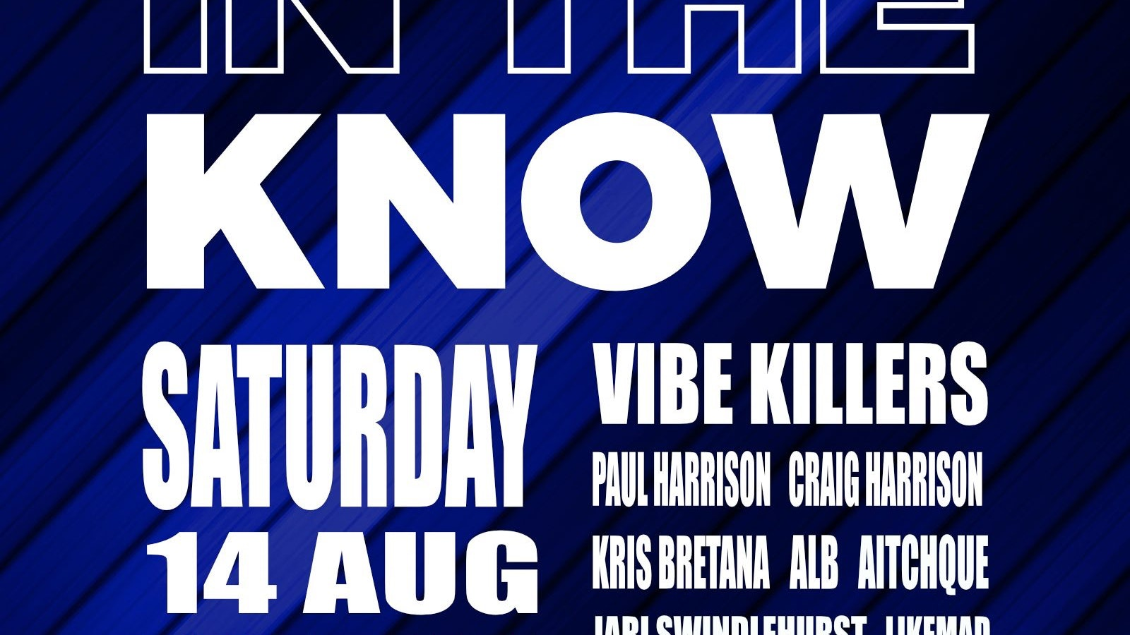 In The Know / The 2021 Opening Party