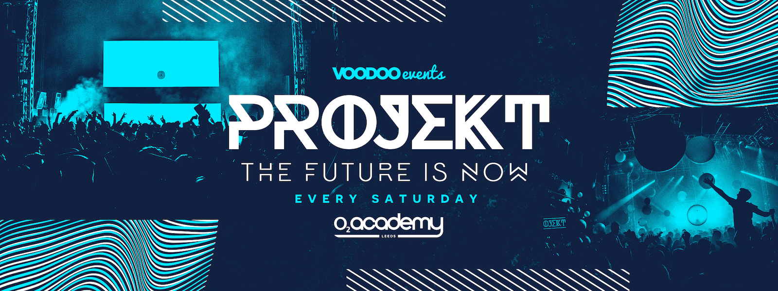 Projekt  at the O2 Academy- Pre Freshers 18th September