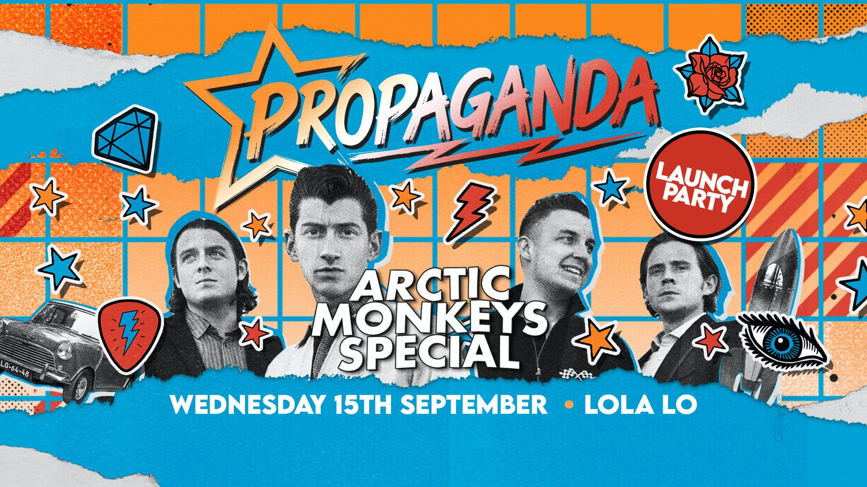 Propaganda Cambridge – Arctic Monkeys Launch Party at Lola Lo!