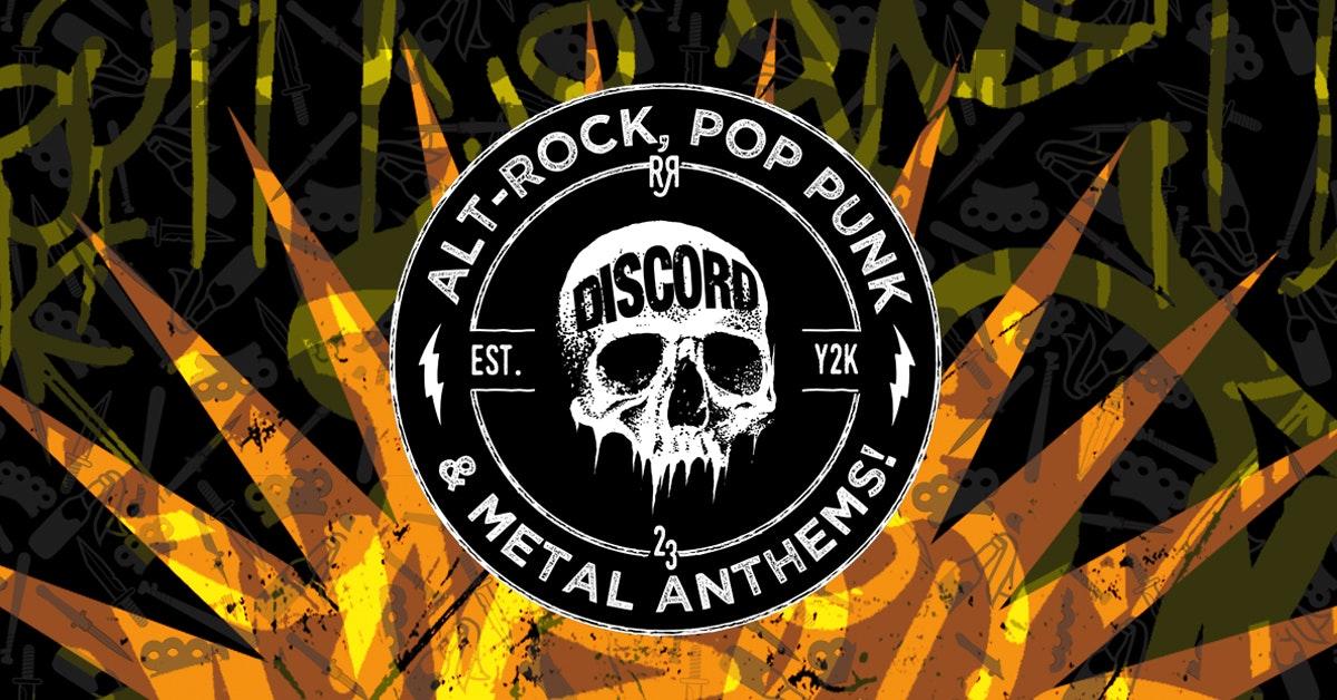 DISCORD –  Alt-Rock, Pop Punk & Metal Anthems!