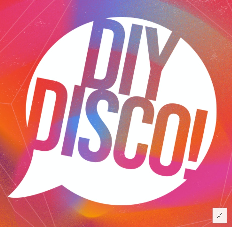 DIY DISCO // The House of Glitter //