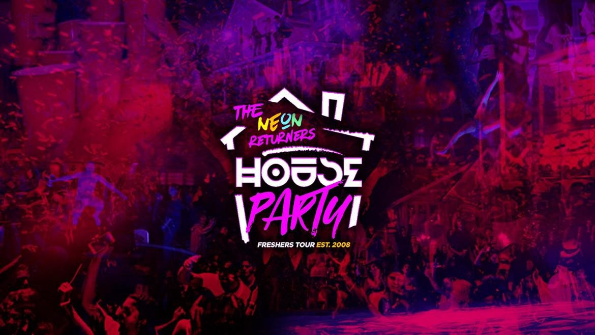 Neon Freshers House Party // Reading Freshers 2021 – Returners Tickets for 2nd & 3rd Years!