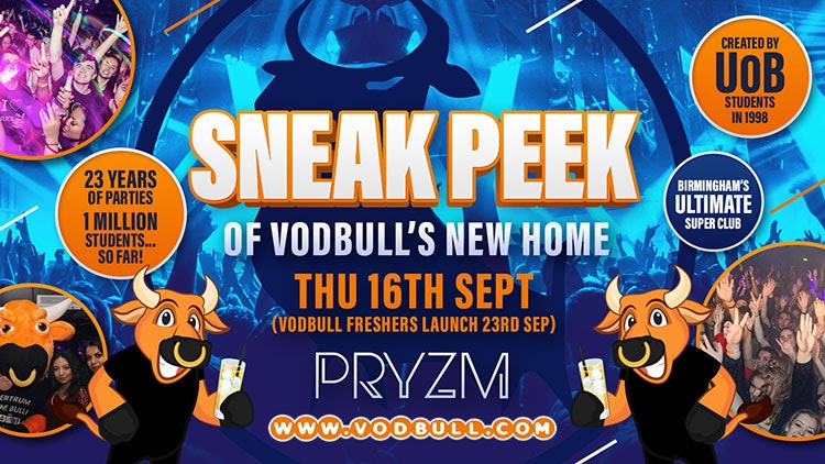 💥200 tickets on the door from 11pm!!💥 The SNEAK PEEK at PRYZM💥