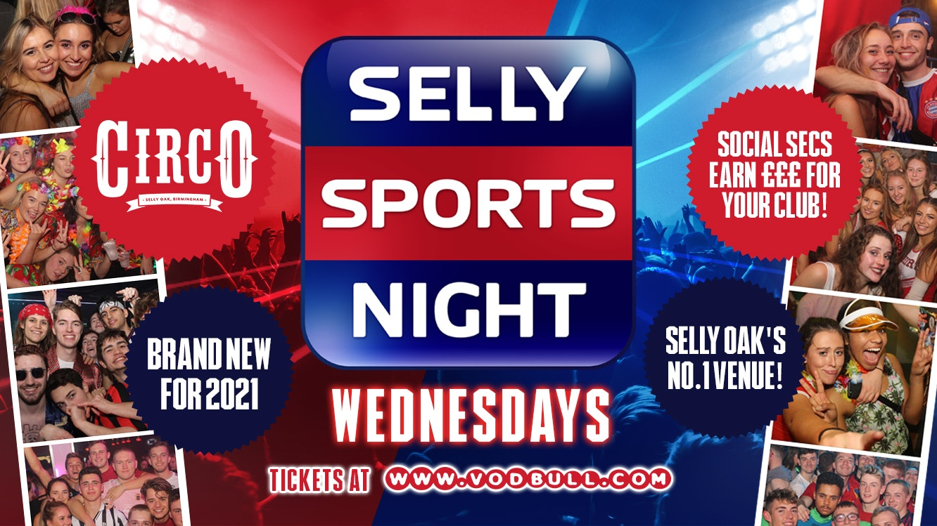 ✰ Selly Sports Night, Welcome Party 22nd Sept 2021 ✰