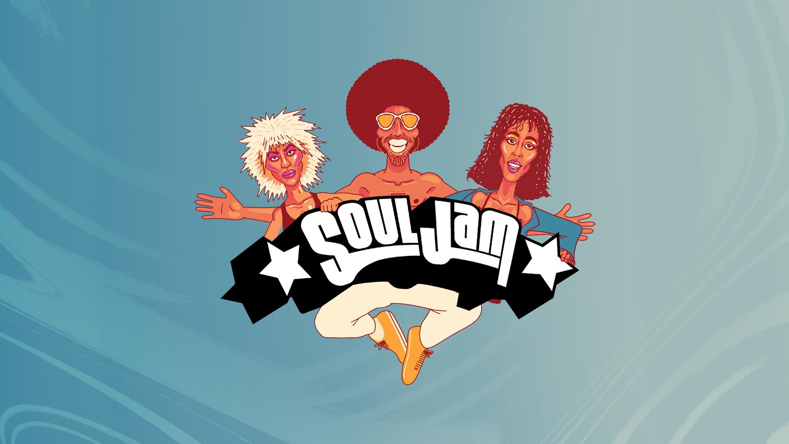 SoulJam   The Love Train Tour   Glasgow   SWG3