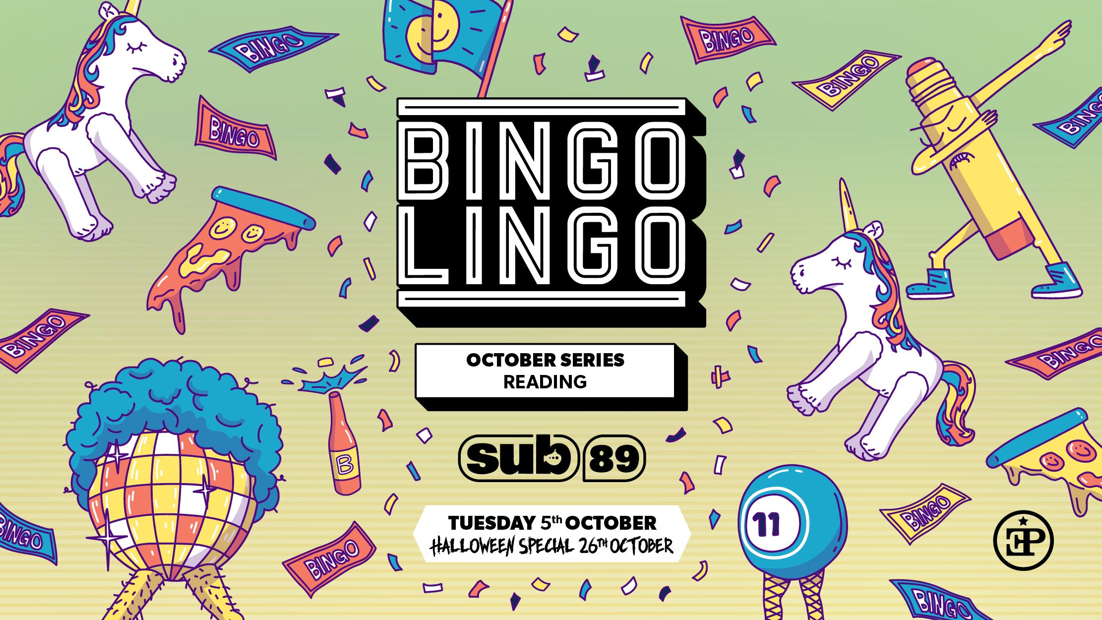 BINGO LINGO – Reading – BINGO IS BACK!