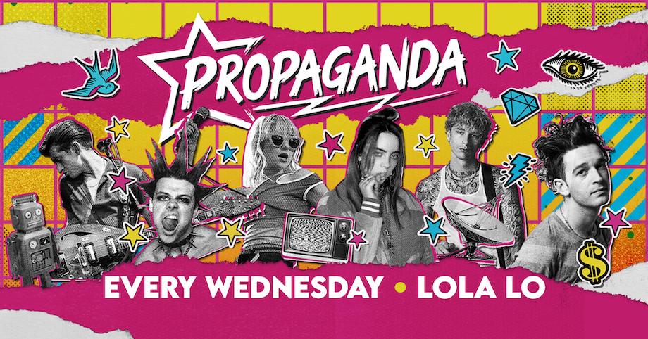 Propaganda Cambridge at Lola Lo!
