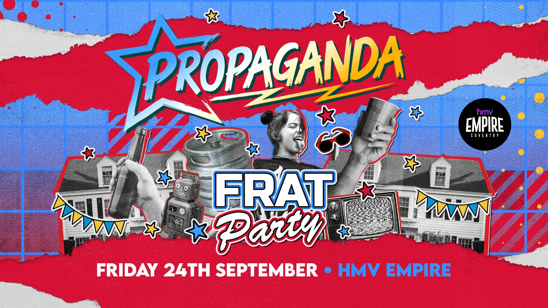 Propaganda Coventry –  Frat Party!