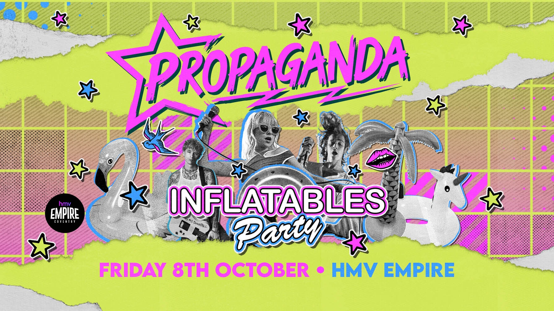Propaganda Coventry –  Inflatables Party!