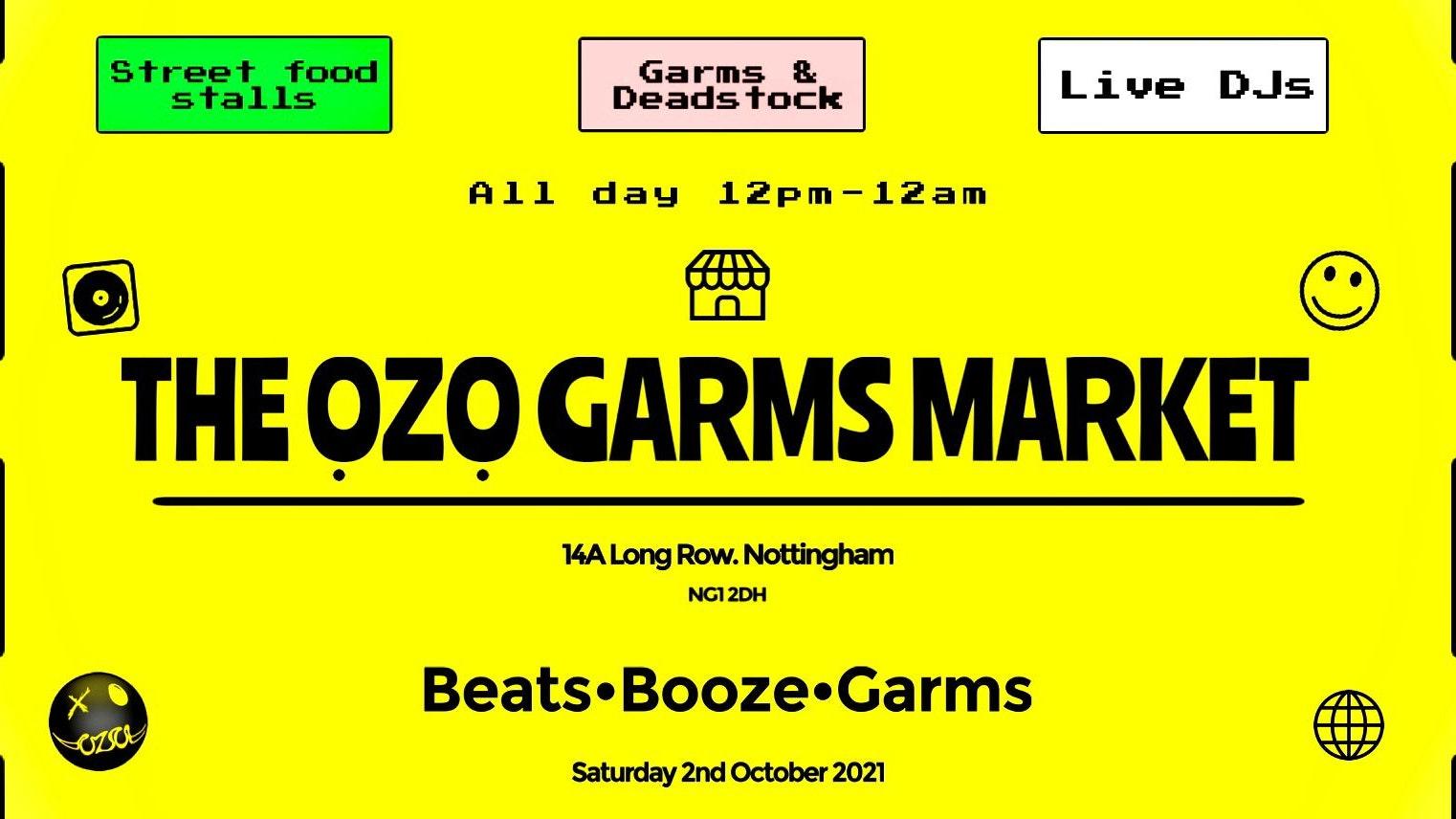 The OZO Garms Market