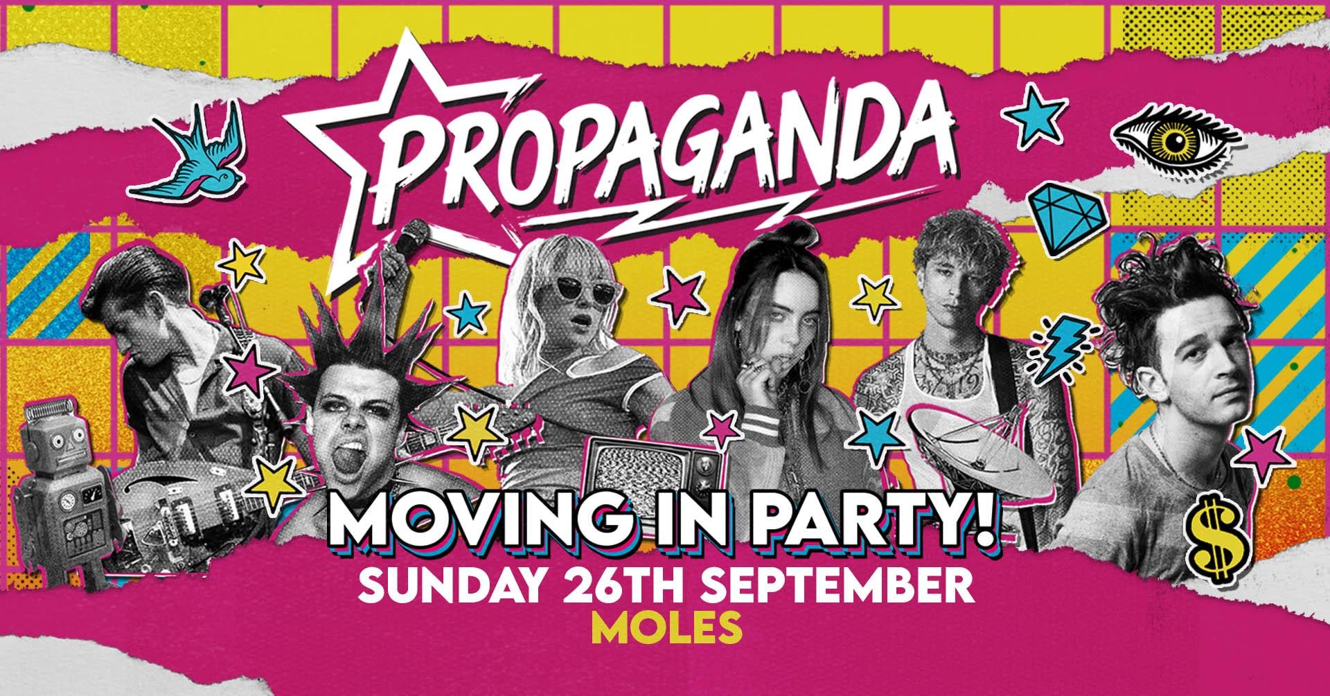 Propaganda Bath – Moving In Party!