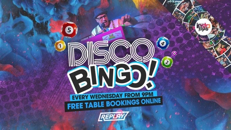 Disco Bingo   Table Reservations