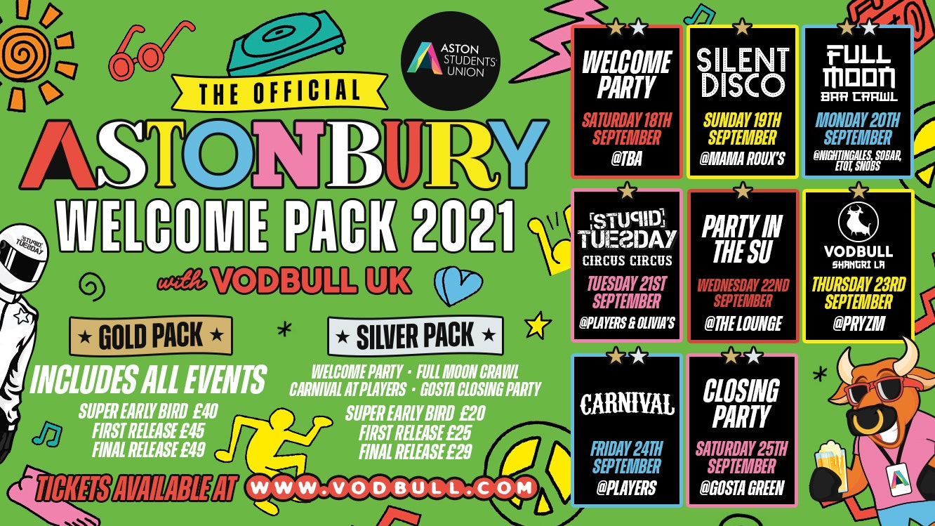 Aston Uni OFFICIAL Welcome Pack!!🔥EXTRA 50 PACKS RELEASED!! 🔥For Refreshers & Freshers🔥