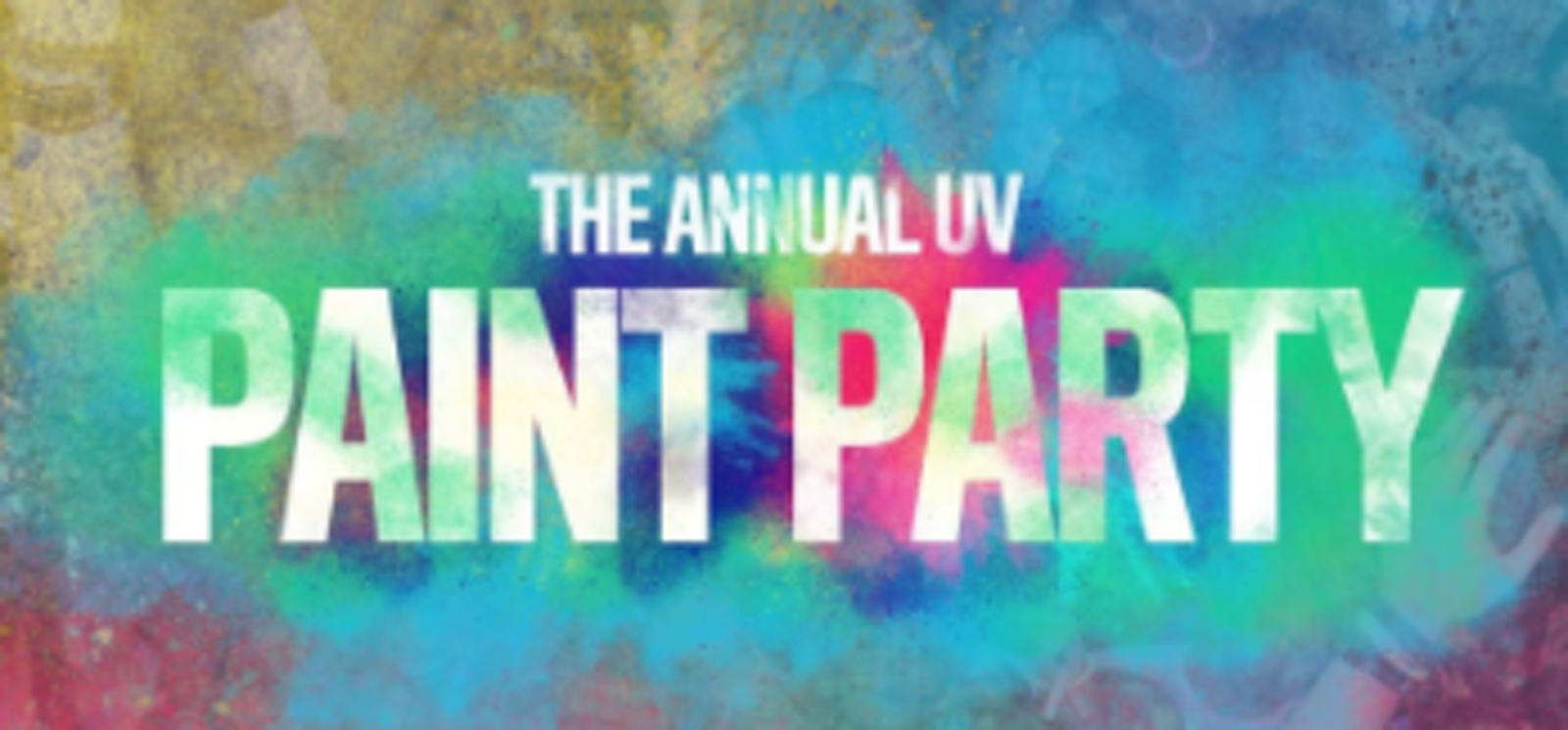 The Annual UV Paint Party // Freshers 2021