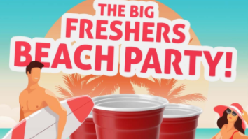 The BIG Freshers Beach Party // Home Lincoln // Wed 6th Oct