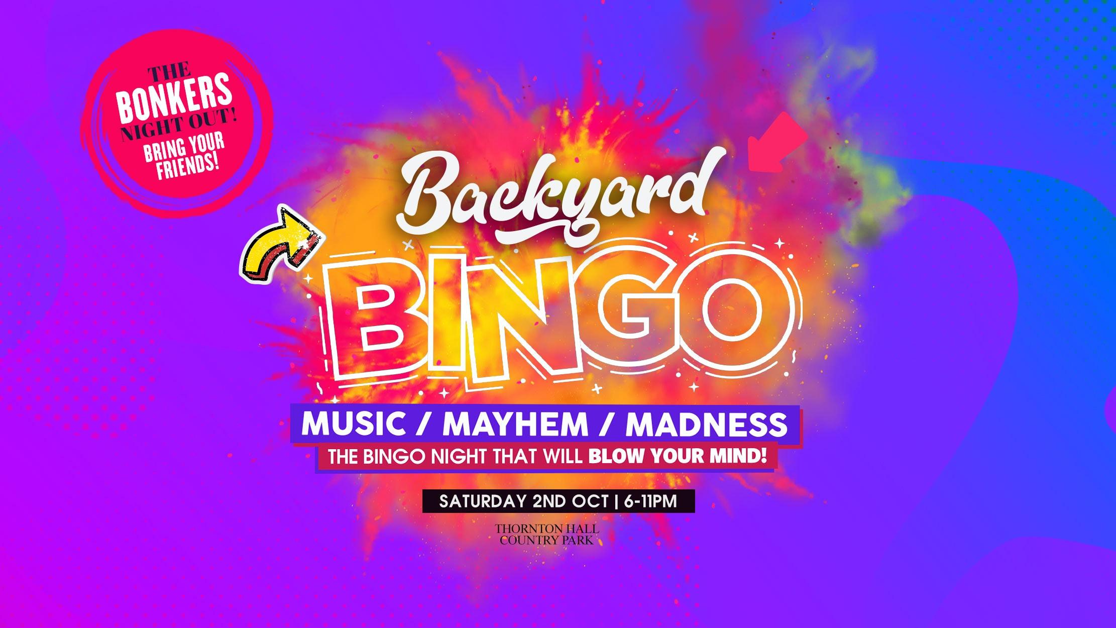 Secret Garden – Back Yard Bingo Live