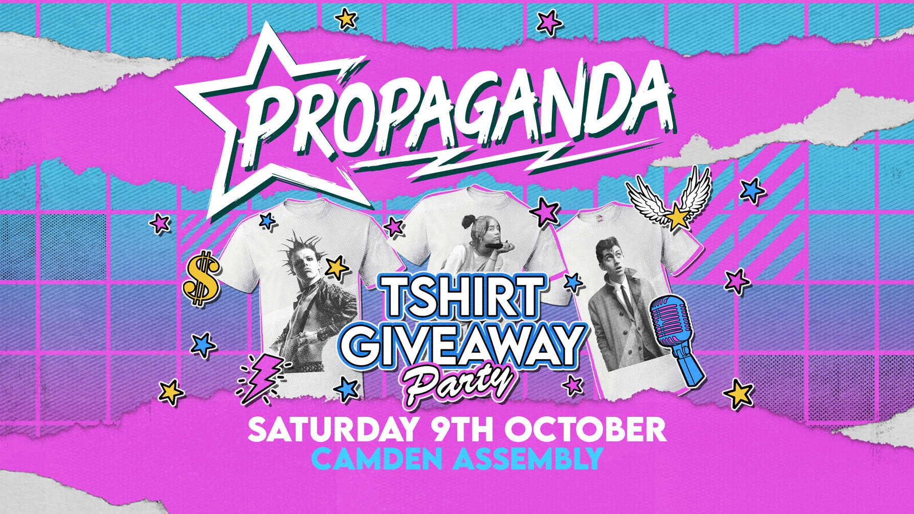 Propaganda London – T-shirt Party!