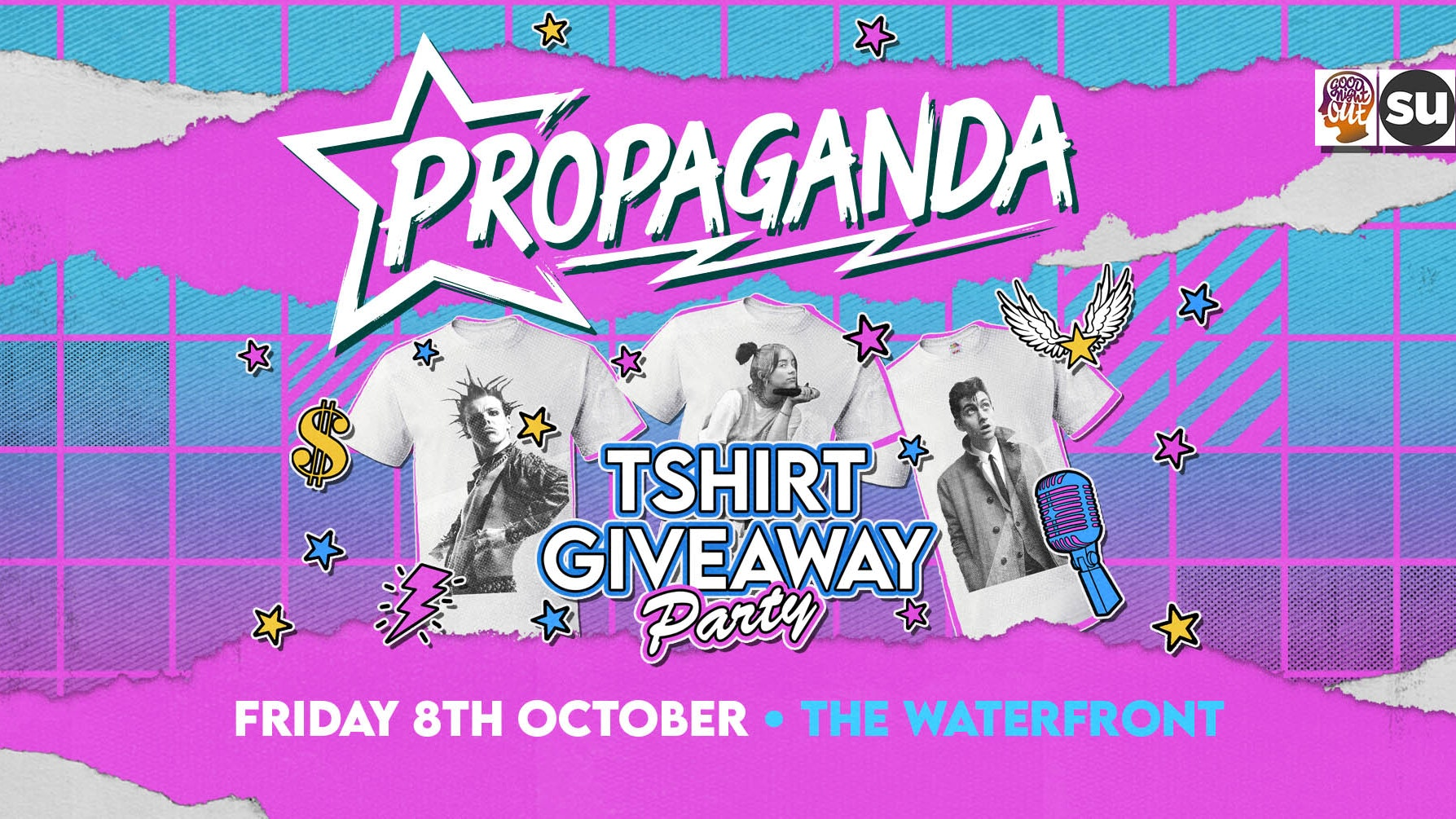 Propaganda Norwich – T-shirt Party!