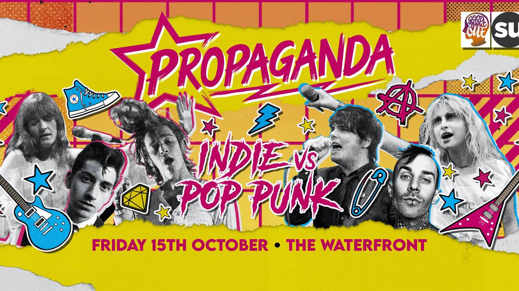 Propaganda Norwich – Indie vs Pop-Punk Party!