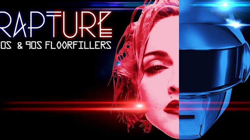 RAPTURE – 80's and 90's floor filling anthems!