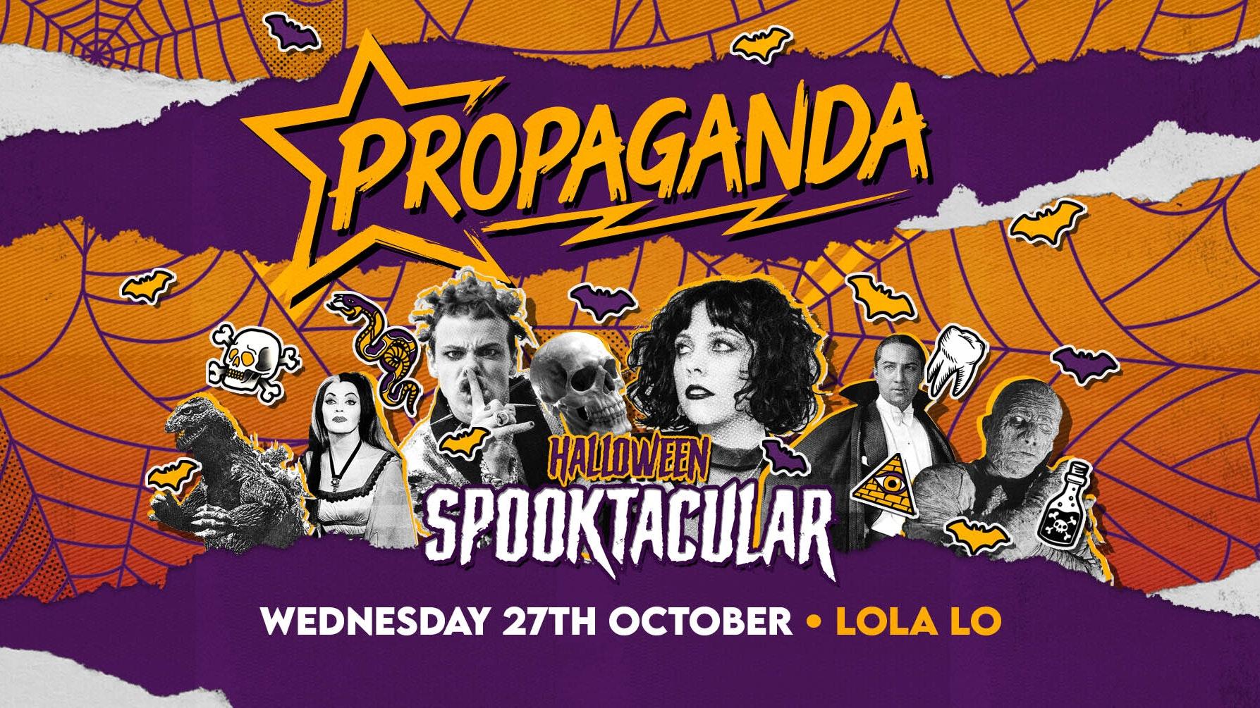 Propaganda Cambridge – Halloween Spooktacular!