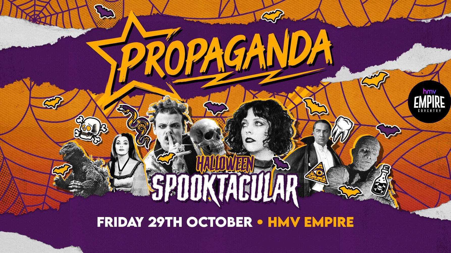 Propaganda Coventry –  Halloween Spooktacular!