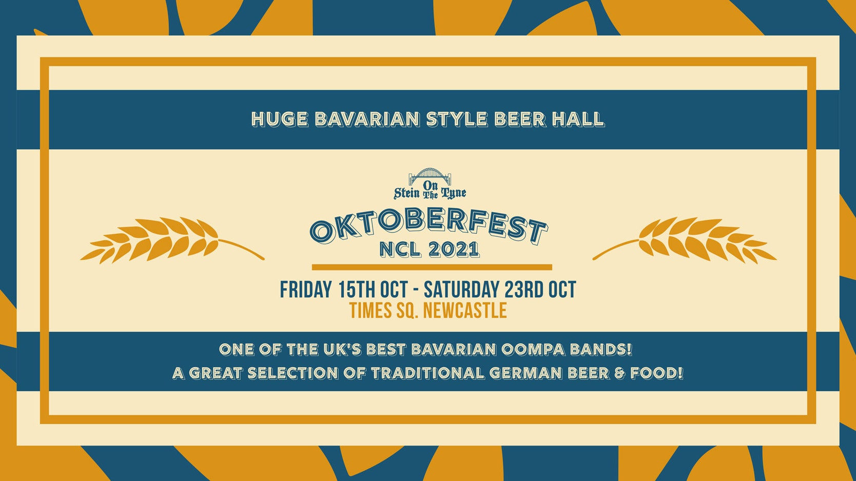 Oktoberfest 2021 – Tickets On Sale Now – Times Square. Newcastle