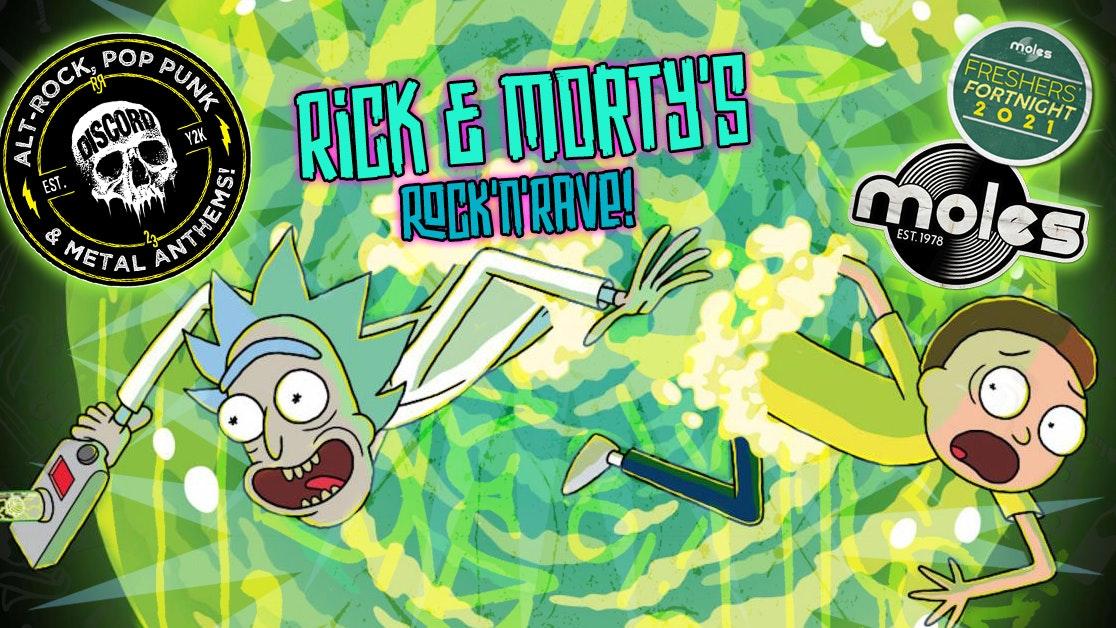 DISCORD – Rick & Morty's Rock 'n' Rave! | Freshers' Fortnight 2021