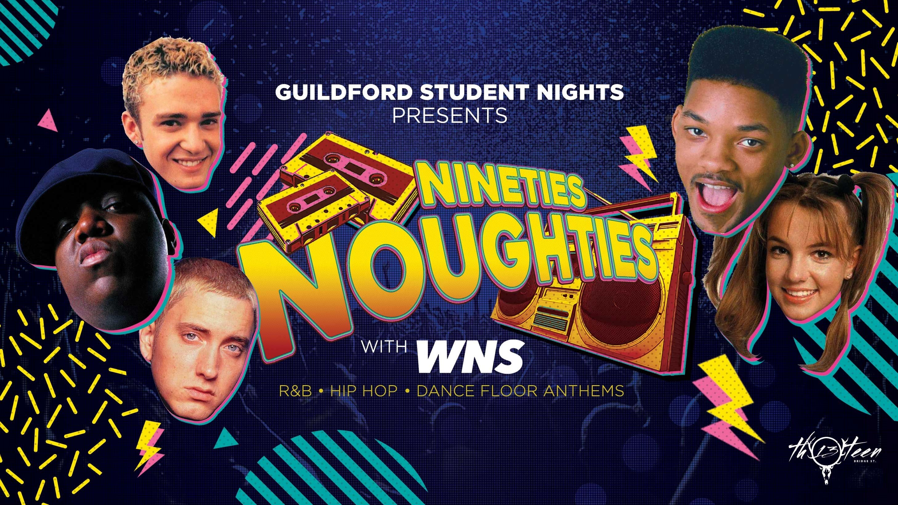 90s & 00s – Throwback Tunes All Night @ Bar Thirteen | Surrey Freshers 2021