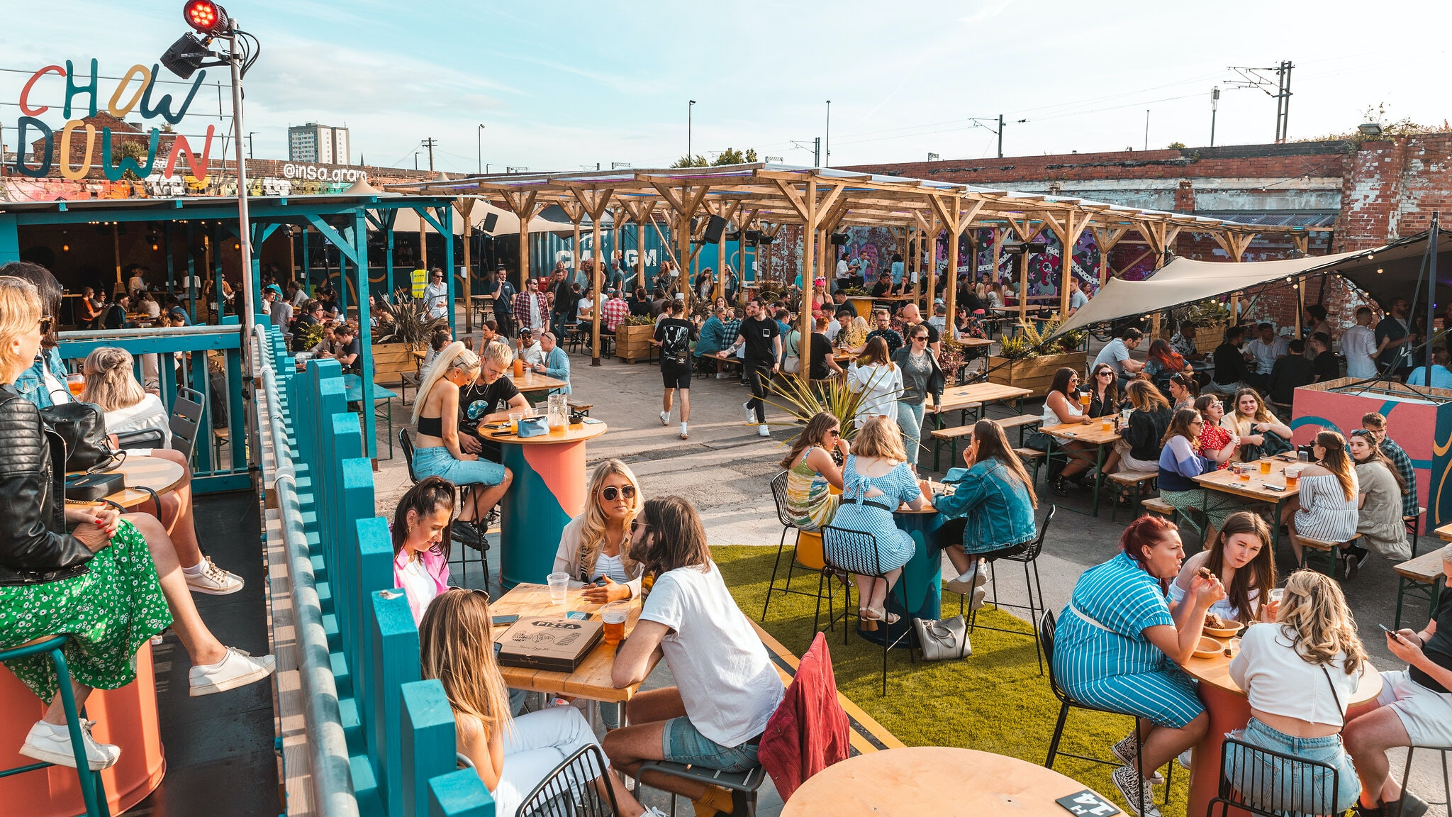 Chow Down: Saturday 2nd October – UNCOVERED TERRACE